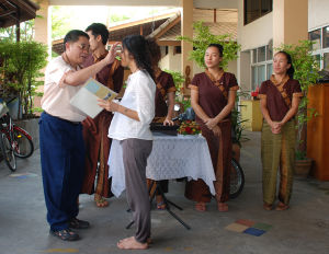 A scuola in Thailandia