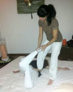 Massaggio Thai in Spa